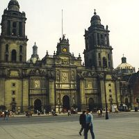 Mexico city 1990 Catedral Metropolitana...© by leo1383, Наукалпан