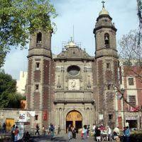 MEXICO Mexico DF, Iglesia de San Miguel Arcángel, Наукалпан