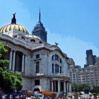 México, D.F., Delegación Cuauhtémoc, Mezcla de Estilos., Наукалпан