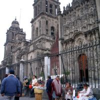 Messico -Mexico City_Catedral, Наукалпан