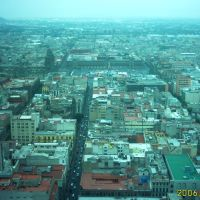 Centro Historico desde la Torre Latino, Текскоко (де Мора)