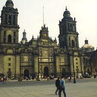 Mexico city 1990 Catedral Metropolitana...© by leo1383, Текскоко (де Мора)