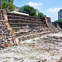 México, D.F., Delegación Cuauhtémoc, Cultura Mexica, Templo de Ehécatl-Quetzalcóatl., Текскоко (де Мора)