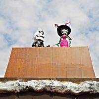 México, D.F., Delegación Cuauhtémoc, La Catrina y su Enamorado., Текскоко (де Мора)