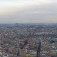 Panoramica 360° de la Ciudad de México desde Torre Latinoamericana, Текскоко (де Мора)