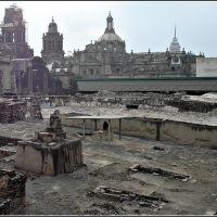 Templo Mayor, Ciudad de Mexico, Текскоко (де Мора)