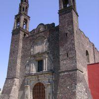 Iglesia Tlatelolco una de las Tres Culturas de esta Plaza, Текскоко (де Мора)