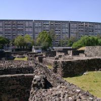 Ruinas de Tlatelolco, Текскоко (де Мора)