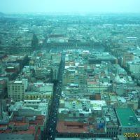 Centro Historico desde la Torre Latino, Хилотепек-де-Абасоло