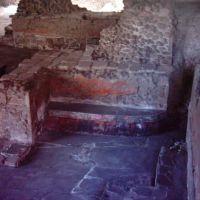 Templo Mayor, aun con sus colores, Хилотепек-де-Абасоло