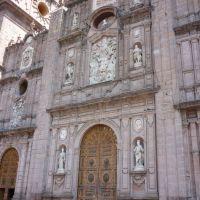 Fachada de la Catedral de Morelia, Морелиа