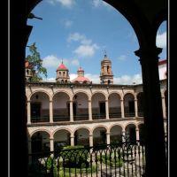 San Nicolas de Hidalgo College in Morelia Mich., Морелиа
