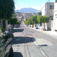 Panorama de la Calle Mariano de la Piedra, Пуруандиро
