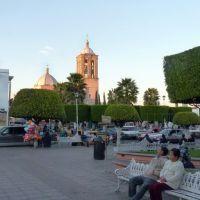 Plaza en la tarde 05, Пуруандиро