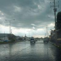 Entrada a Puruándiro con lluvia, Пуруандиро