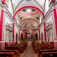 Interior de la Parroquia Santiago Apóstol. por Eduardosco, Куаутла-Морелос