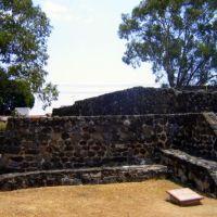 Templo de Tezcaltipoca. Teopanzolco, Morelos, Куэрнавака