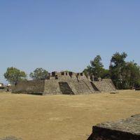 Teopanzolco, Куэрнавака