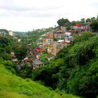 Cuernavaca, Vista desde el Puente Independencia hacía el sur., Куэрнавака