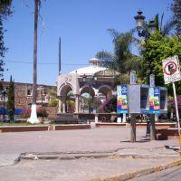 Kiosco, Plaza Principal (M. Arriero), Компостела