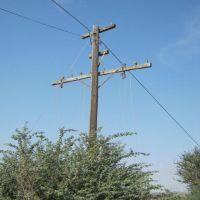 viejo poste telefónico entre Tecuala y Novillero, Текуала