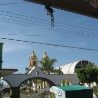 Entrando a la plaza de Tecuala, Nayarit, Текуала