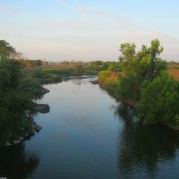 Río Acaponeta desde el puente de Tecuala, Текуала