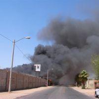 Incendio en Maquiladora 2007, Мехикали