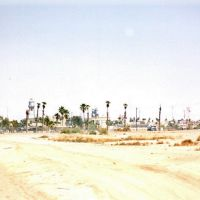 Mexican border by Calexico Airport, Тиюана