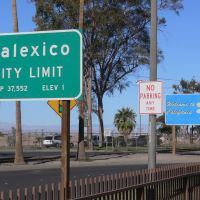 Calexico City Limit (Elev 1 ), California, Тиюана