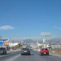 Juarez vista del cerro de las Mitras Carr Reynosa, Кадерита-Хименес
