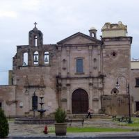 Catedral de San Felipe, sin la torre, desplomada en 2008, Линарес
