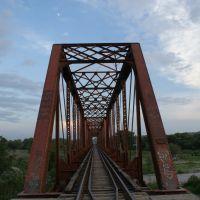 Puente Negro del FFCC Zona Sur, Linares N.L., Линарес