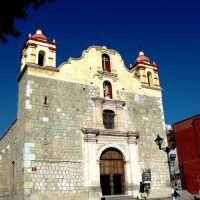 Iglesia de la sangre de Cristo, en el corredor de Santo Domingo, Оаксака (де Хуарес)