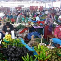 "Weekly market (""tianguis"") in Tlacolula, Тлаколула (де Матаморос)"