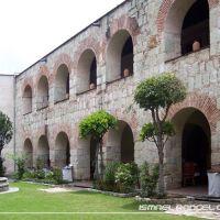 JARDÍN EX CONVENTO DE SANTA CATALINA DE SIENA (HOTEL C.R.), OAXACA, Хуахуапан-де-Леон