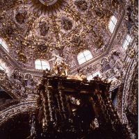 Puebla - cupola di San Domenico, Ицукар-де-Матаморос