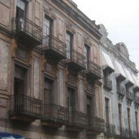 Balcones en Puebla., Ицукар-де-Матаморос