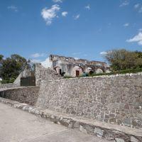 Entrada al fuerte de Gpe, Пуэбла (де Зарагоза)