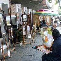 Callejón del artista en Puebla, México., Пуэбла (де Зарагоза)