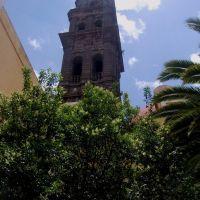 Lateral de la Torre de la Iglesia de San Francisco, Puebla, México., Пуэбла (де Зарагоза)