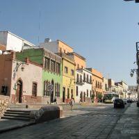 A quiet backstreet, Закатекас