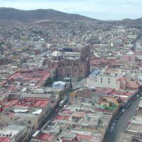 Zacatecas desde el funicular, Закатекас