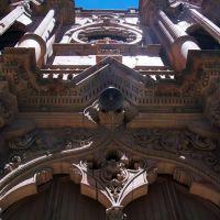 Detalle de la Iglesia de Guadalupito, Закатекас