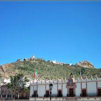 Cerro de la Bufa, desde la Plaza de Armas de Zacatecas, Закатекас