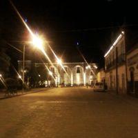 Iglesia de Ojocaliente en la noche, Сан-Мигель