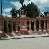 Monumeto a la Bandera Ojocaliente, Zac., Сан-Мигель