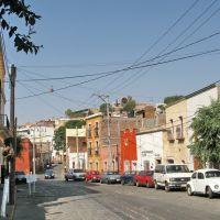 The Zacatecas cable car above the street, Сомбререт