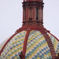 CÚPULA, TEMPLO DEL CARMEN, SAN LUIS POTOSÍ, S.L.P., Матехуала