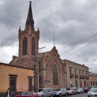 TEMPLO I. CRISTIANA CENTRAL, SAN LUIS POTOSÍ, S.L.P., Сан-Луис-Потоси